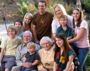 Mr.Leon Frankamp's family