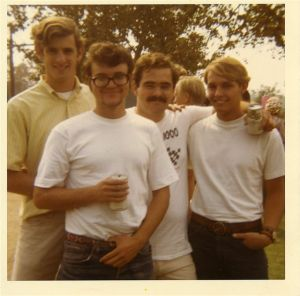 Jim Ranshaw (left) is shown with other St. Joseph's staff.
