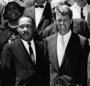Martin Luther King, Jr. and Robert F. Kennedy were both assassinated in 1968.