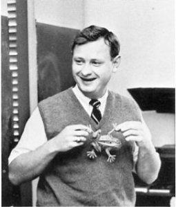Mr. Fecht loved frogs!