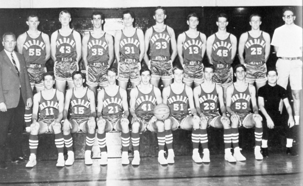 Burbank High's Varsity Basketball team, 1968