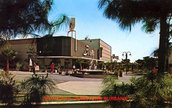 My family frequently went shopping at the BurCal department store.