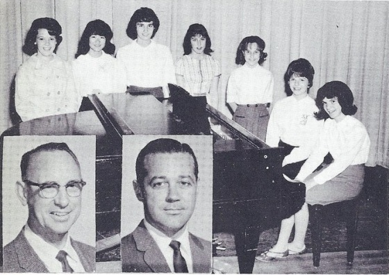 The directors and accompanists of John Muir Junior High.