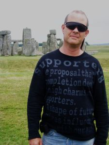 Crilly Butler at Stonehenge