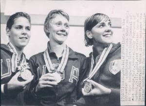 Cathy Ferguson was a two-time Olympic gold medalist.
