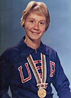 Cathy Ferguson was Burbank High's Olympian.