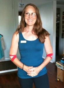 Karen Parrish Rapport just gave blood.