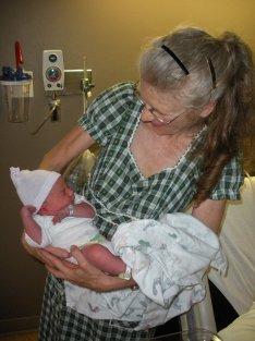 Lark Ziegler and grandson