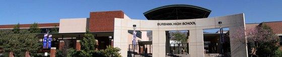 The new look of Burbank High School.