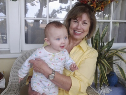 Bonnie Moody Rapp and her great-granddaughter!