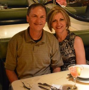 Skip Johnston and his wife, Sandra