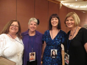 Debbie Dana Richmond, June Ingersoll, Helen Tone and Patti Molloy Vosper