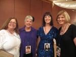 "Debbie Dana Richman, June Ingersoll Roseberry, Helen Tone and Patti ""Trish"" Molloy Vosper"