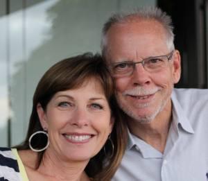 Marilyn Kasper Beck and her husband.