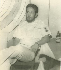 Les Heller in the Navy