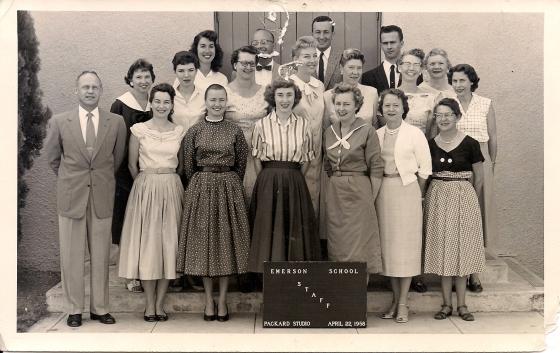 Emerson Staff, 1958