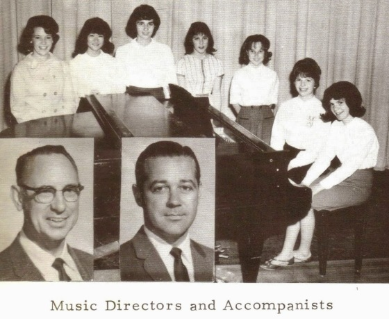 '64 Muir Music Directors and Accompanists