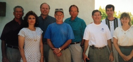 """""""We grew up together,"""" says Roger Barton of the classmates in this picture."""