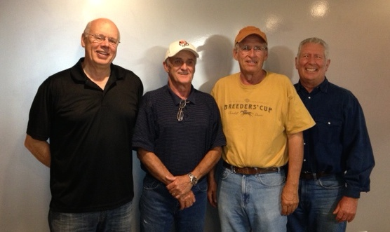 Craig Smith, Roger Baton, Bill McMurrin and Tony Young