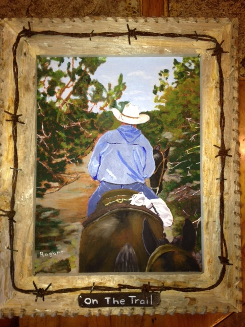 Oil Painting by Roger Baton of BHS'68 grad, Tony Young.