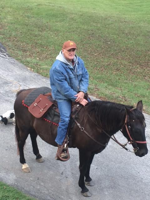 Roger Baton is living the life of Daniel Boone.