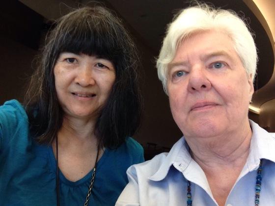 Kathy Au Crosier and Barbara Weitbrecht