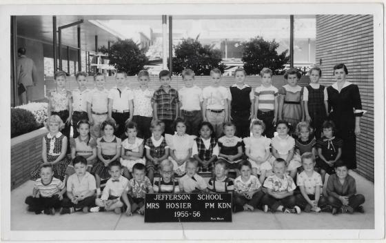 Kindergarten, Mrs. Hosier