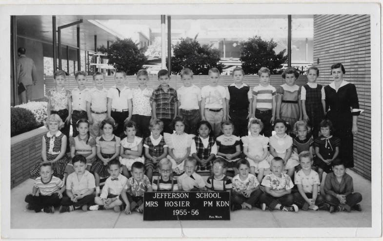 Kindergarten, Mrs. Hosier