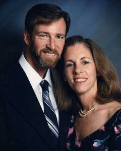 "Steve and Mary Raine; photo taken ""a few years ago!"""