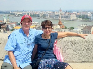 John and Donna Canzoneri Wray on their recent European trip.