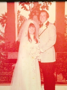 Robin and Don Smith were married 42 years ago.