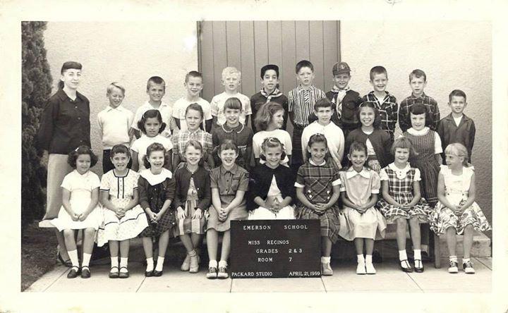 Emerson School Burbank High Class Of 1968