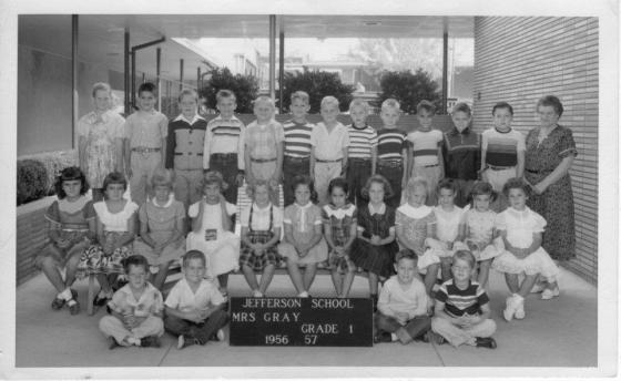 Grade 1, Mrs. Gray