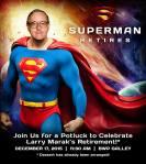 Larry Marak is the latest classmate toretire.