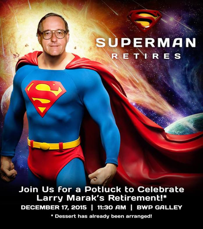 Larry Marak is the latest classmate to retire.